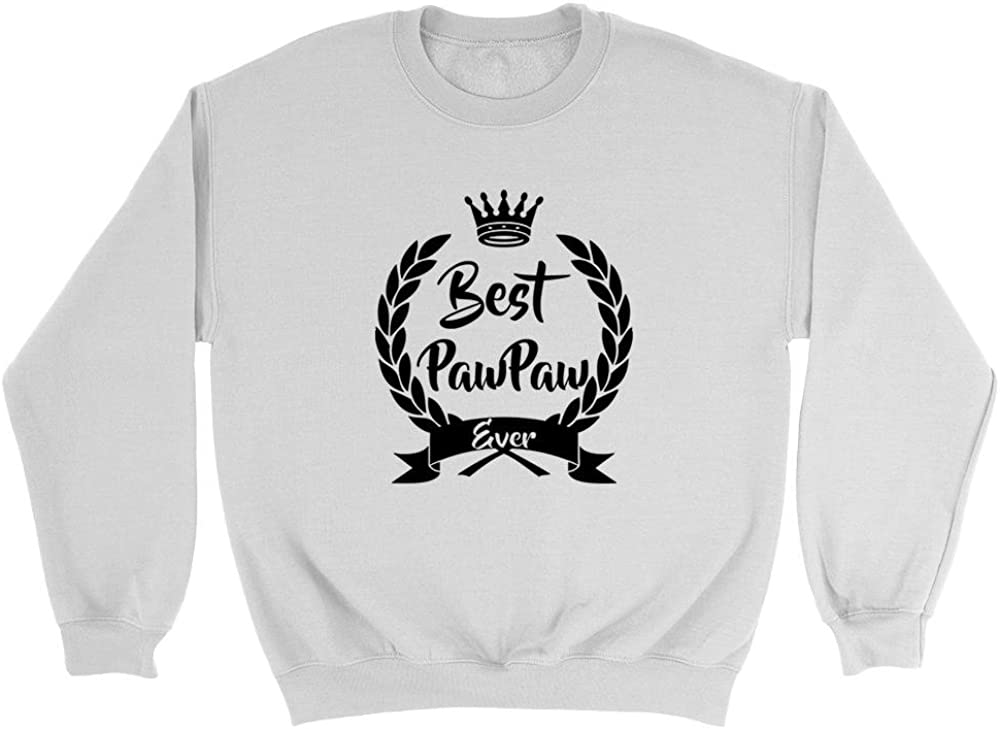 Best Pawpaw Ever Fathers Day Birthday Christmas Gift For New Grandad Pop Pop Poppy Poppa Grandpa Sweatshirt