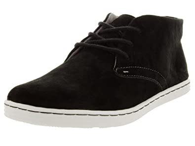33417b273fa48 Sebago Men's Barnet Chukka Black Nubuck Casual Shoe 8.5 Men US