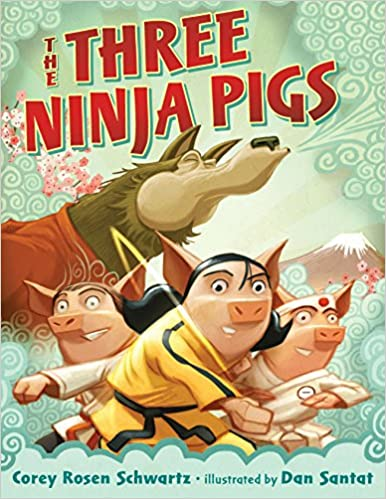 Image result for the three ninja pigs
