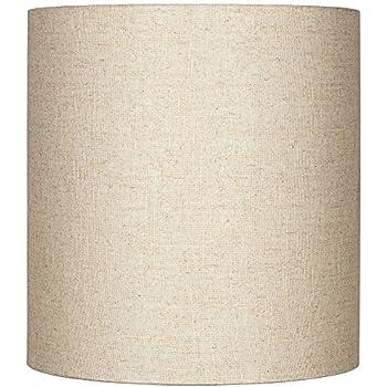 Linen Drum Lamp Shade In Cream Lampshades Amazon Com
