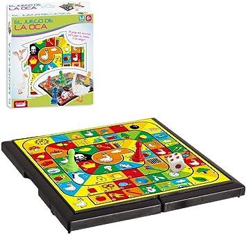 JUINSA- Juego de la oca Viaje 18x18 (95430): Amazon.es: Juguetes y juegos