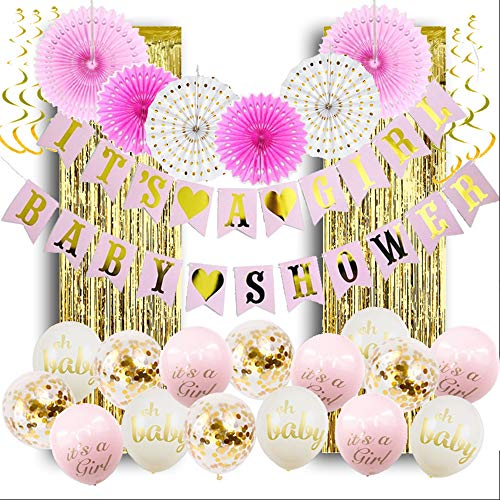 Royal Style Baby Shower Decorations for Girl; It's