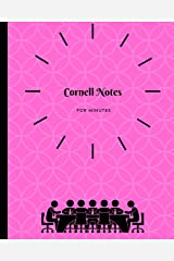 Cornell Notes for Minutes Paperback
