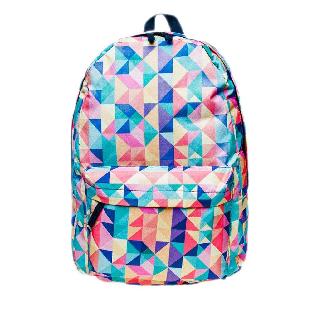 Amazon.com: Summer Style 3D Unicorn Printing Backpack for School Teenager Girls Boys Children Kids School Laptop Bags Travel Backpack (AZTEC): FASHION ...