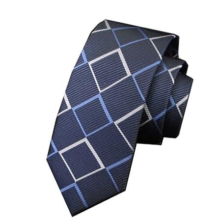 YYB-Tie Corbata Moda Corbata de Seda de Morera Edición Estrecha ...