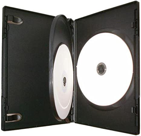 Four Square Media - Caja para 3 CD, DVD o Blu-ray (14 mm, 10 ...