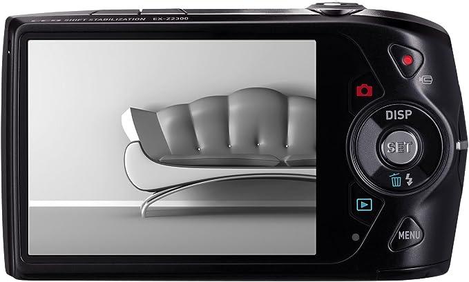 Casio Exilim Ex Z2300 Digitalkamera 3 Zoll Schwarz Kamera