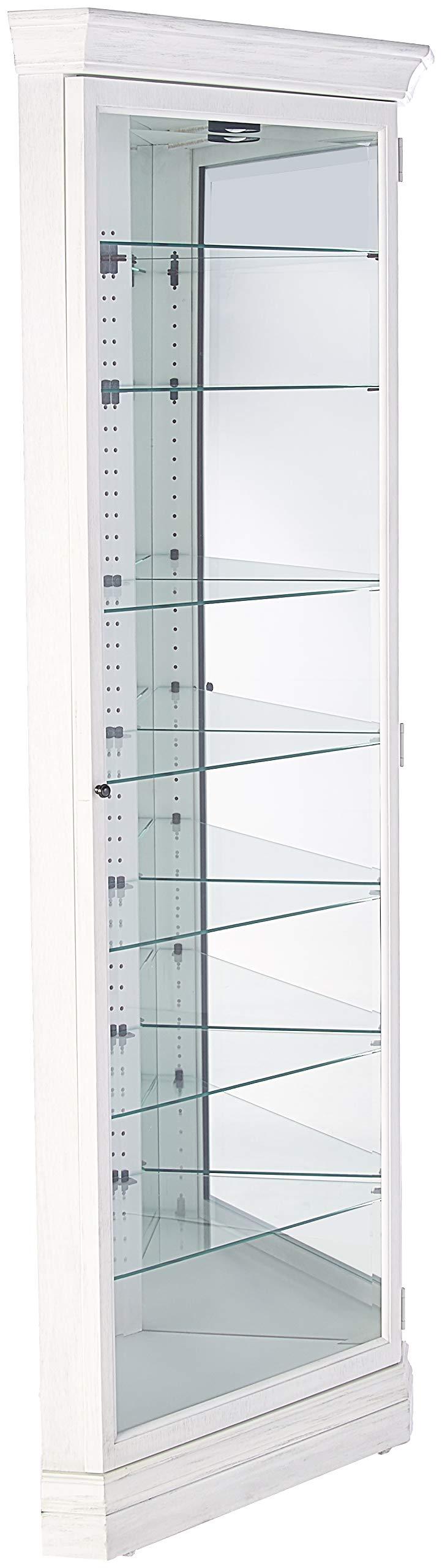 Howard Miller Curio Cabinet, Agend Linen by Howard Miller