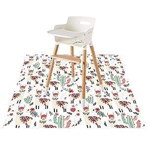 Splat Mat for Under High Chair/Arts/Crafts by CLCROBD, 51