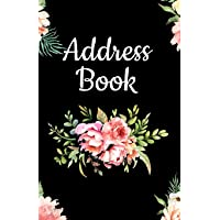 Address Book: Pretty Floral Design, Tabbed in Alphabetical Order, Perfect for Keeping Track of Addresses, Email, Mobile, Work & Home Phone Numbers, Social Media & Birthdays (Vintage Collection)