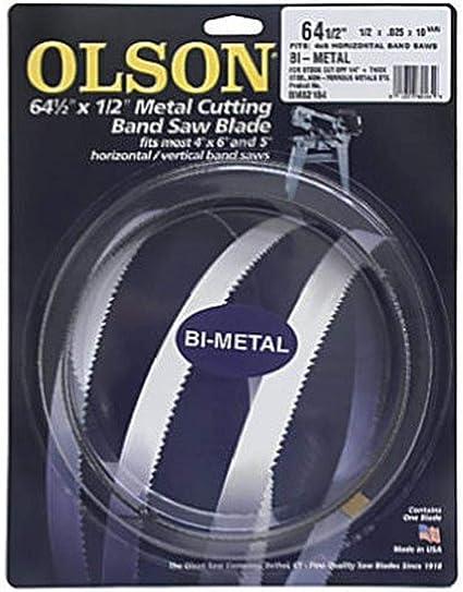 """64.5/""""x1//2/""""x0.025/""""10//14TPI Band Saw Blades M42 Bi-metal 1638mm Metal Cutting Tool"""