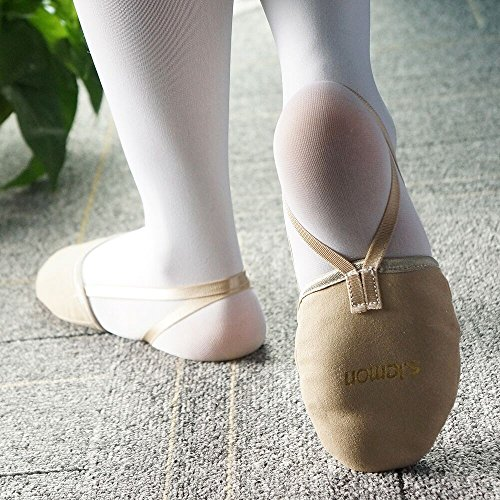 S.lemon Durevole In Microfibra Pelliccia Balletto Libero Mezzo Mezzo Scarpe Giroscopi Lirici Balletto Balletto Scarpe Per Ragazze Bambino Donne
