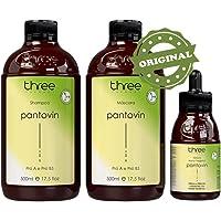 Three Therapy Pantovin - Kit de Crescimento Tônico (3 Produtos)