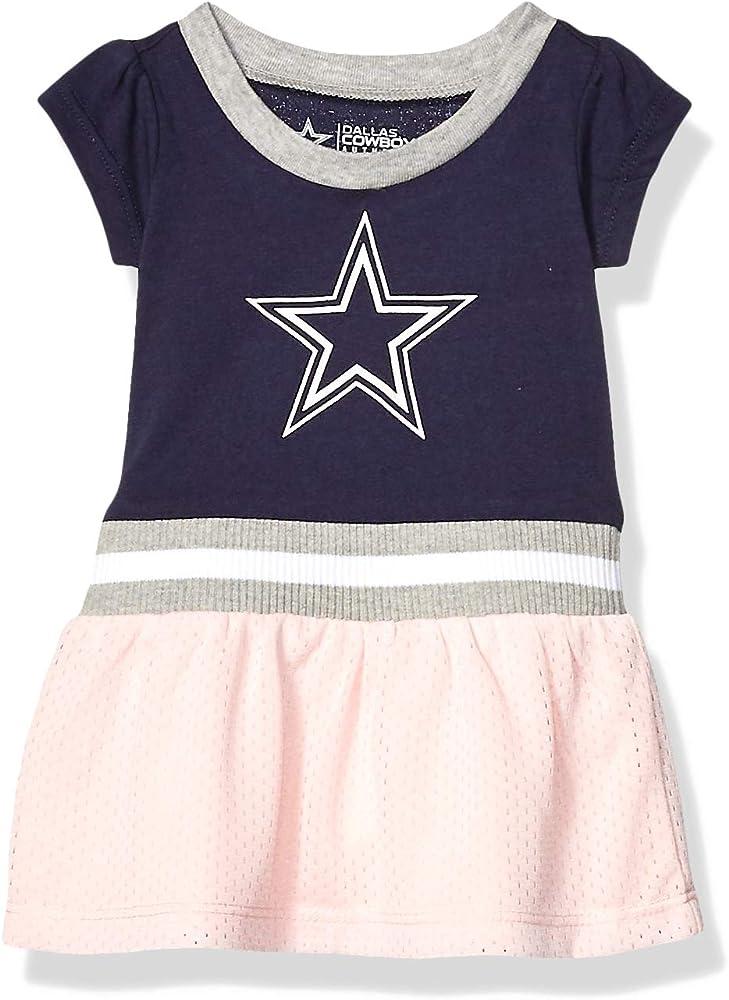 Dallas Cowboys NFL Girls Doxin Long Sleeve Onesie Set