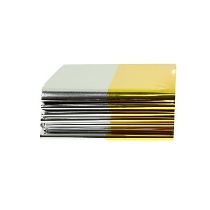 Coperte Termiche Oro Argento.Coperta Termica Di Sopravvivenza Oro Argento Pellicola 160 X 210 Cm