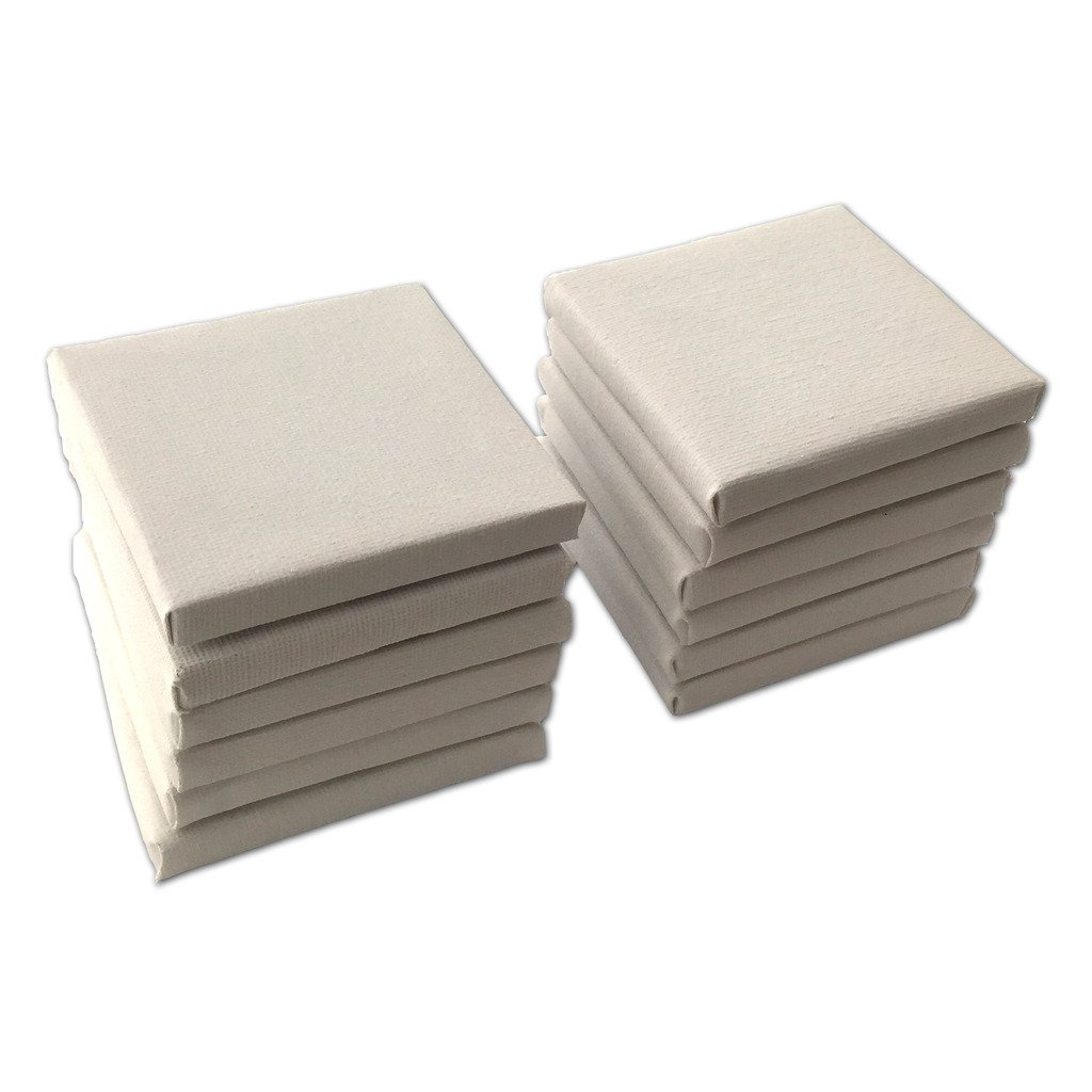 LWR Crafts mini su tela, White, 3x 5 3x 5 KX-STC006