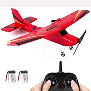 Mopoq Rc Plane 4 Channel Remote Control Airplane Ready to Fly Rc Planes for Adults,Easy & Ready to Fly,Stunt Flying Upside Down,Great Gift Toy for Adults or Advanced Kids