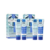 Luster Premium White, AM & PM Anticavity Fluoride Toothpaste Kit, Mint (Pack of 2)
