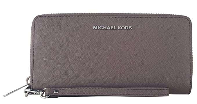 2edc12757cf0 MICHAEL Michael Kors Jet Set Travel Saffiano Leather Continental Wallet  (Cinder)