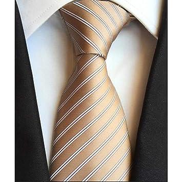 WOXHY Corbata de los Hombres Hombres Corbata Moda Hombre 8Cmties ...