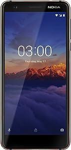 "Nokia Mobile 3.1 - Android 9.0 Pie - 16 GB - Dual SIM Unlocked Smartphone (AT&T/T-Mobile/MetroPCS/Cricket/Mint) - 5.2"" Screen - Blue - U.S. Warranty"