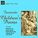 Favorite Children's Poems Audiobook by Edward Lear, Lewis Carroll, Robert Browning, Rudyard Kipling Narrated by Roy Macready