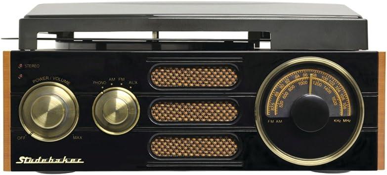 Amazon.com: Studebaker sb6055 3 velocidades Tocadiscos ...