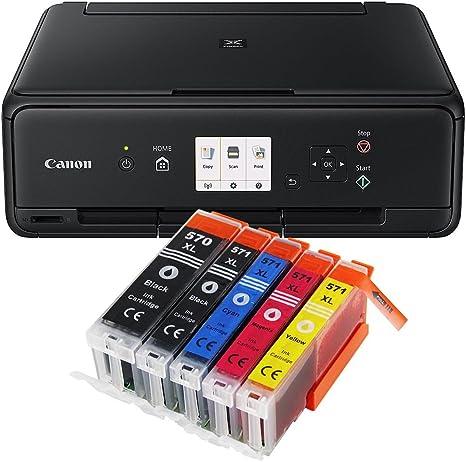 Canon Pixma TS5055 TS-5055 All-in-One - Impresora multifunción ...