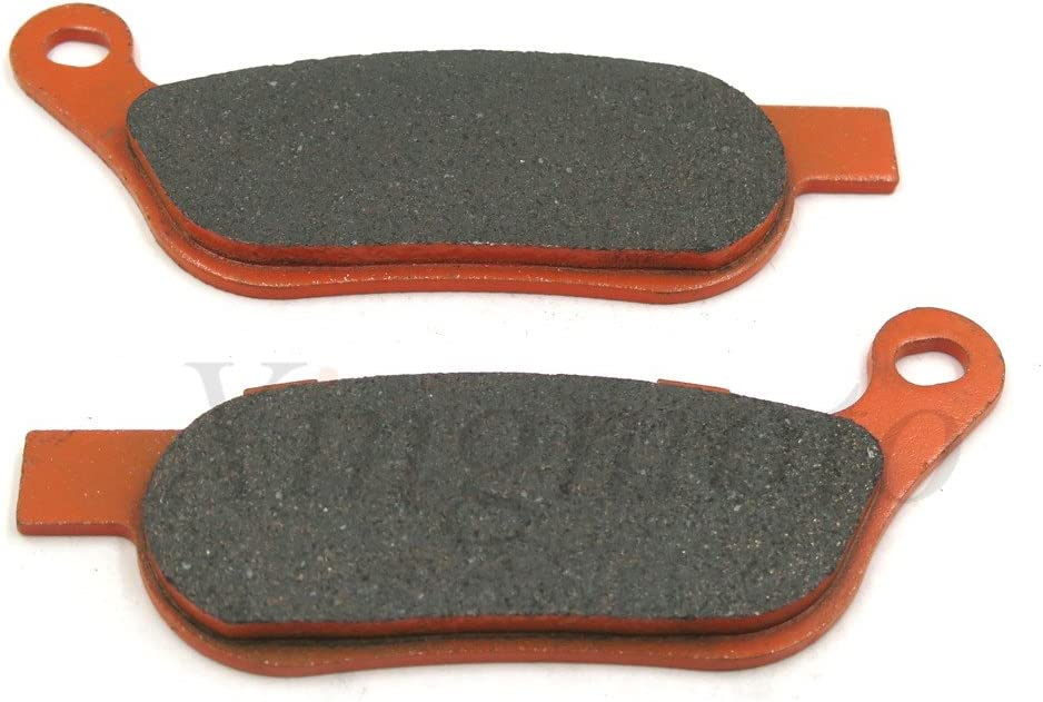 Carbon Ceramic Brake Pad For Harley FXSB Softail Breakout Dyna Wide Glide FA458 NBX