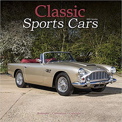 Classic Sports Cars 2020 Wall Calendar
