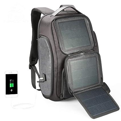 Wibis Mochila De Energía Solar, Daypack De Senderismo ...