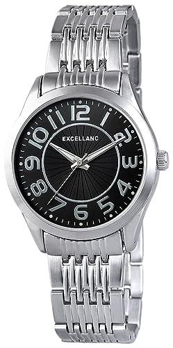 Excellanc Damen-Armbanduhr Analog Quarz verschiedene Materialien 151021000006