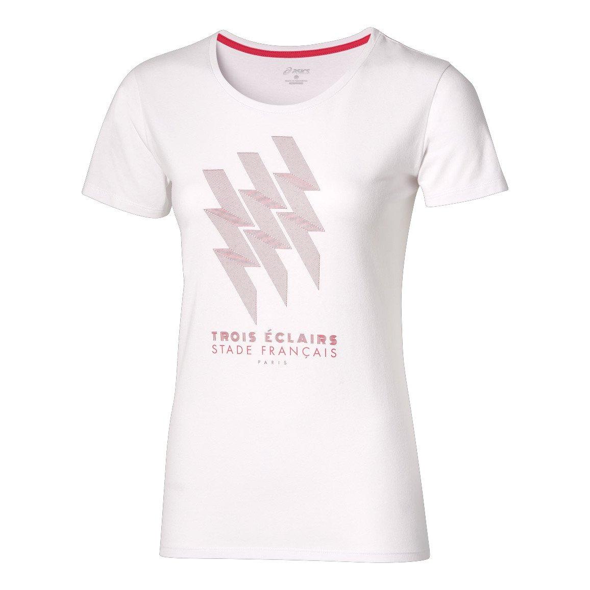 Asics Tee-Shirt Rugby Femme - Stade Français