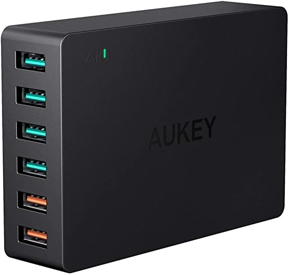 Amazon.com: Cargador de carga rápida 3.0Aukey ...