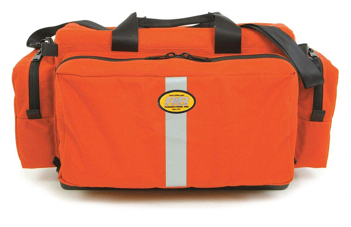 Trauma Bag, Orange, 22'' L