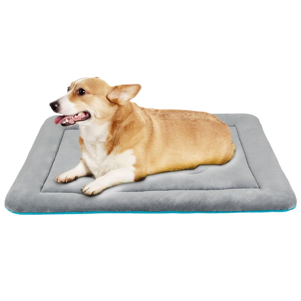 JoicyCo Dog Bed Mat Washable Anti-Slip Soft Crate Pad Matress for 36 Middle Inch Pets Lightweight Kennels