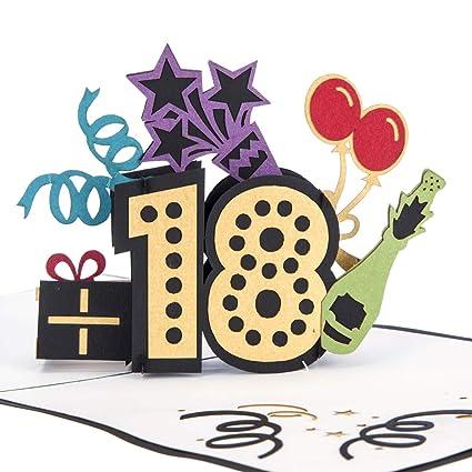 Cardology | Tarjeta de felicitación para 18 cumpleaños ...