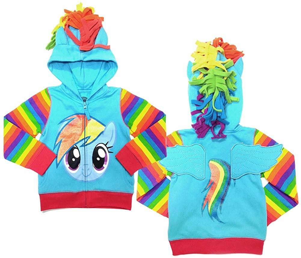 My Little Pony Rainbow Dash Youth Hoodie 6S04-LJST103