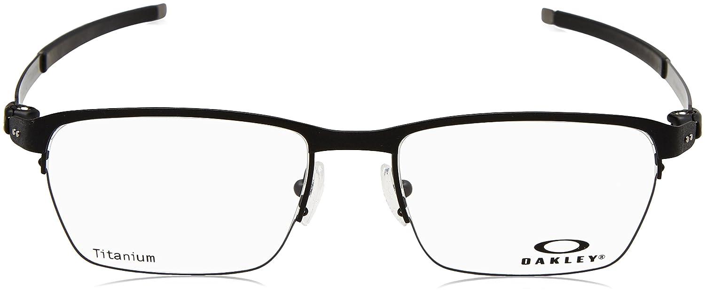 09f595627113a OAKLEY Eyeglasses TINCUP 0.5 TITANIUM (OX5099-0153) Powder Coal  Amazon.ca   Clothing   Accessories