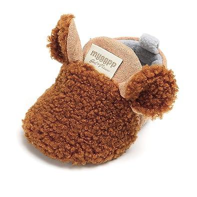 9853dcfad Sabe Infant Baby Warm Fleece Booties Cute Soft Sole Slippers Boys ...