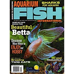 Aquarium Fish International Magazine October 2008 BREED BETTA Sharks TWIG CATS Tridacna Gigas ROYAL TETRAS RULE Homemade Food for Fish BLUE GULARIS Breed Goldfish THE AQUABOTANIST