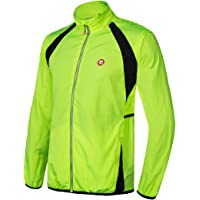Qualidyne Men's Cycling Running Windproof Vest Bike Jacket