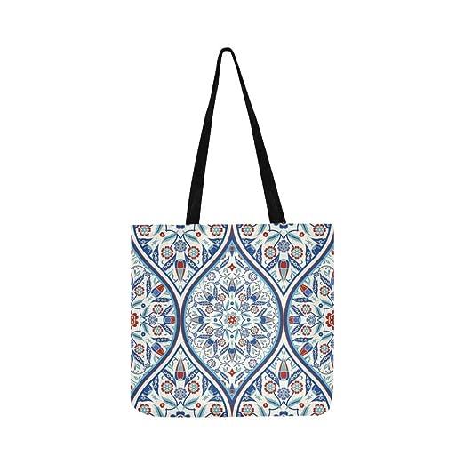 Bolso de mano sin fin turco colorido de la lona del bolso de ...