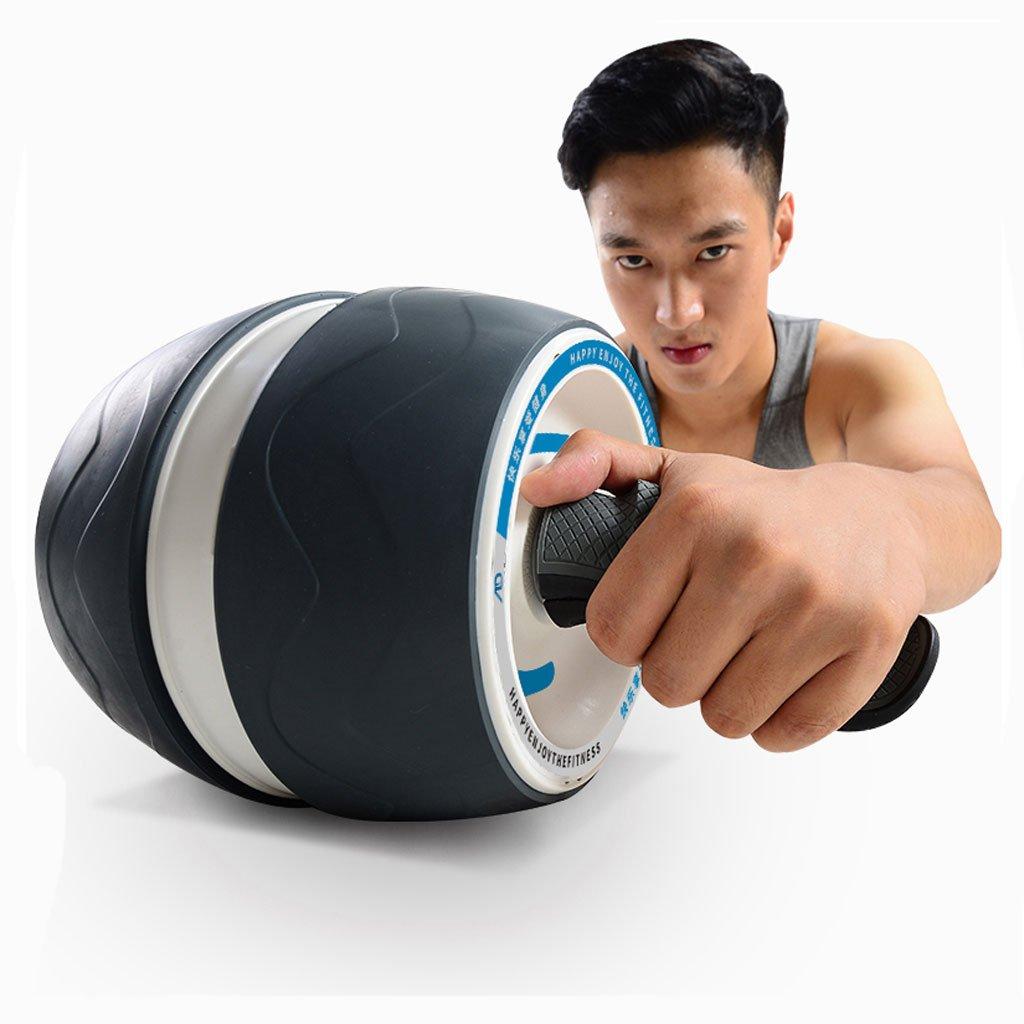Big seller AB Roller Double Abdominal Roller Sportrad und Knieschoner mit Softgriff für Core Fitness Übungen für die Bauchmuskulatur. AB Roller Bauchtrainer