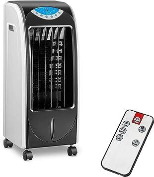 Uniprodo Enfriador de aire evaporativo portatil Ventilador ...