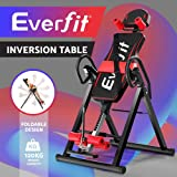 Everfit Inversion Table Gravity Tables Foldable Stretcher Inverter Gym Fitness