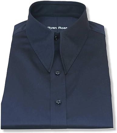 Camisa de cuello de punta de lanza vintage para hombre, 100 ...