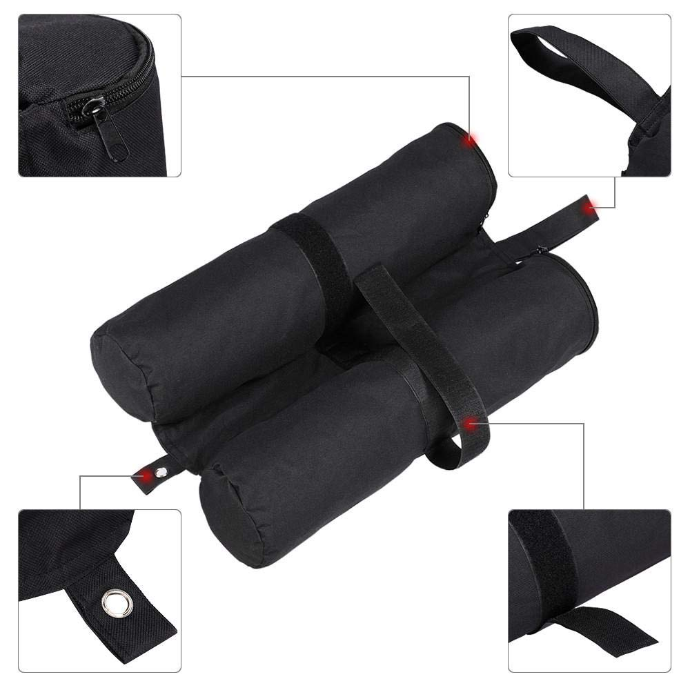 Yaheetech 4pcs 20kg Parasol//Gazebo Leg Weights Pole Sand Base Bags Feet Anchor for Marquee Party Tent Set