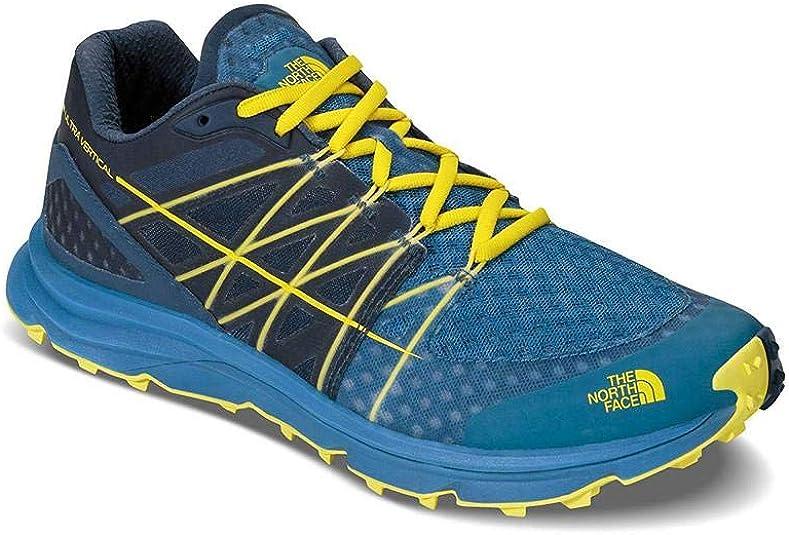 The North Face M Ultra Vertical, Zapatillas de Senderismo para Hombre, Azul (Seaport Blue/Acid Yellow), 40 EU: Amazon.es: Zapatos y complementos