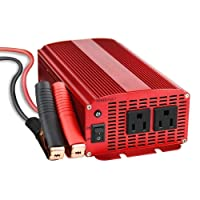 BESTEK 1000W Power Inverter Dual AC Outlets